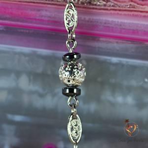 Bracelet Boule Argent hématite