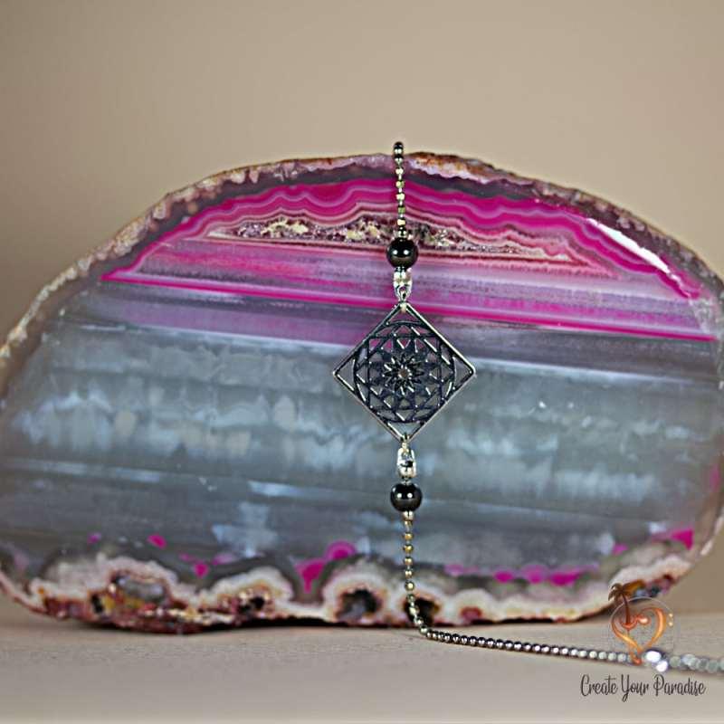 Bracelet Inka Hématite