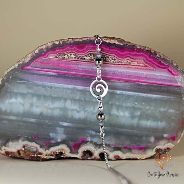Bracelet Tourbillon Perles de Verre