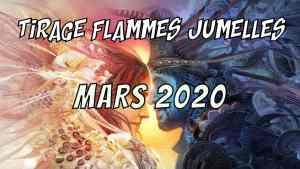 Tirage Flammes Jumelles