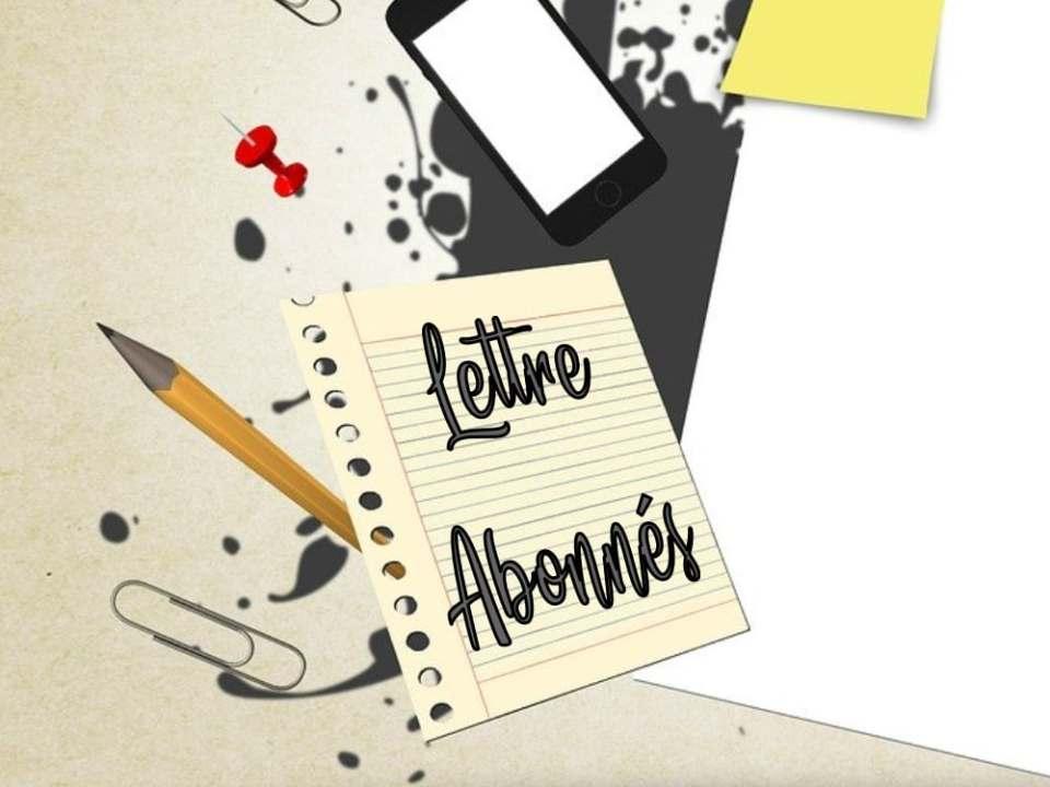 lettre abonnés