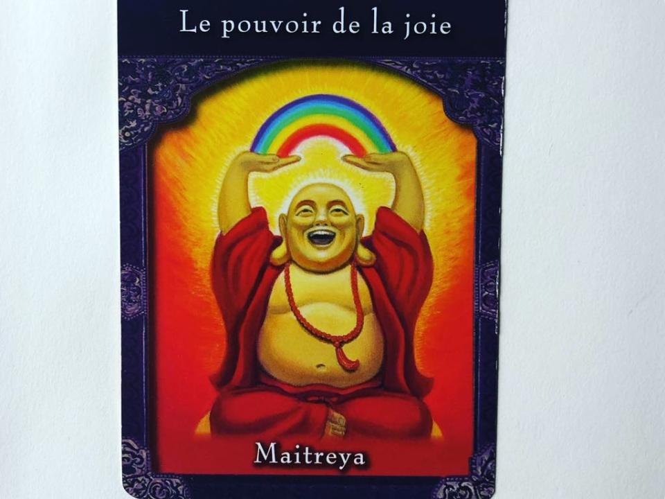 pouvoir de la joie