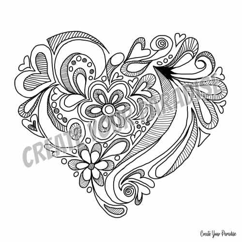 Coeur Amour de soi