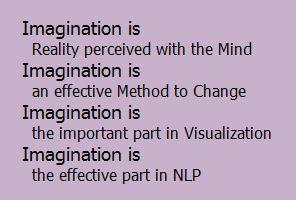 Imagination is