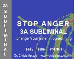 Stop Anger 3A Subliminal