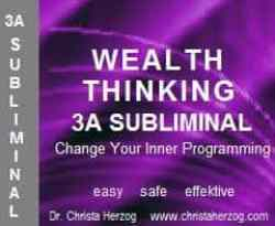 Wealth Thinking 3A Subliminal