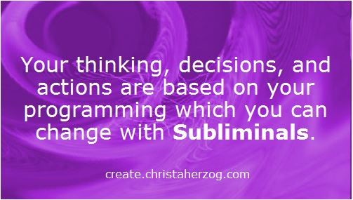change your thinking with subliminals
