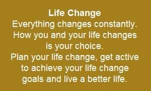 life change plan