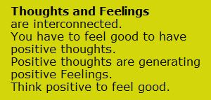Feelings and Thoughts