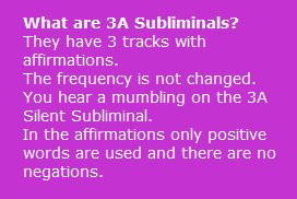 what are 3a subliminals