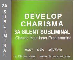 Develop Charisma 3A Silent Subliminal
