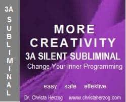 More Creativity 3A Silent Subliminal