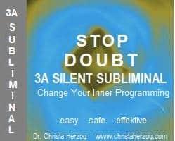 Stop Doubt 3A Silent Subliminal