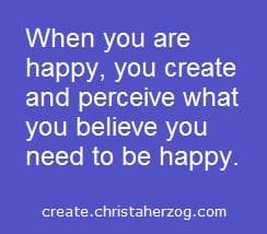 Happiness should be your ultimate goal