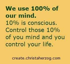 Control Your Mind and Your Body