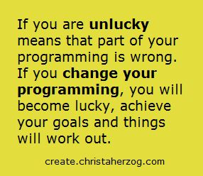 Are You Unlucky?
