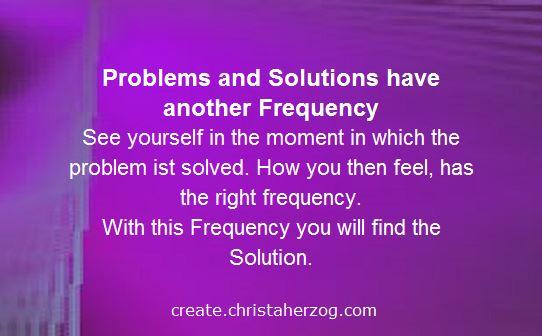 problem versus solution thinking
