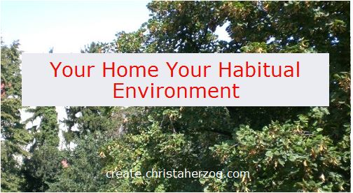your-home-your habitual environment