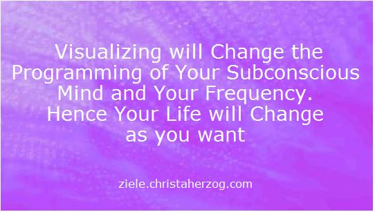 Visualizing changes Your Programming and Your Frequency