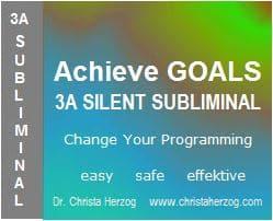 Achieve Goals 3A Silent Subliminal