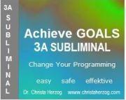 Achieve Goals 3A Subliminal