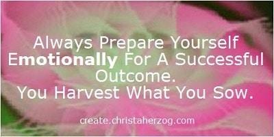 Prepare Yourself Emotionally for Success