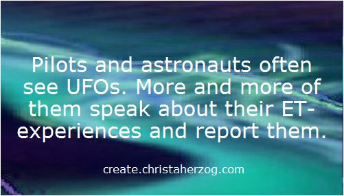 UFO Sightings by Pilots and Astronauts