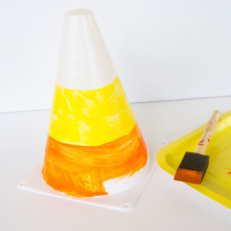 Candy Corn Craft by Lindi Haws of Love The Day
