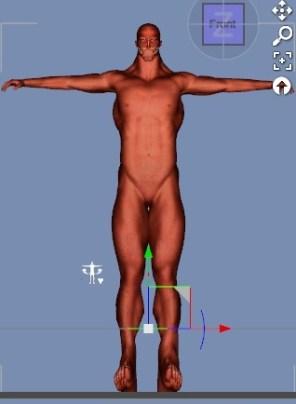 【ブレンダー】3Dで『進撃の巨人』の50メートル級巨人を作ってみる。7【Daz3D】