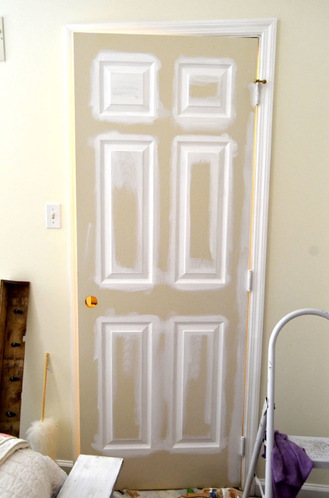 Tips For Painting Interior Doors And Trim Create And Babble