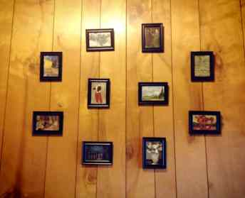 Finished Product | Mini DIY Gallery Wall | KSAVAGER