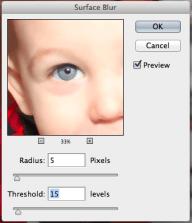 Surface Blur | Editing Baby Photos | KSAVAGER