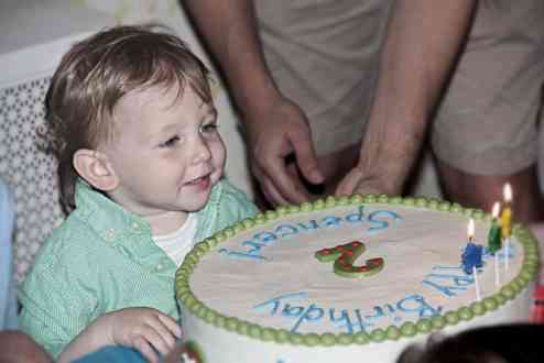 Spencer's 2nd Birthday Party Photos
