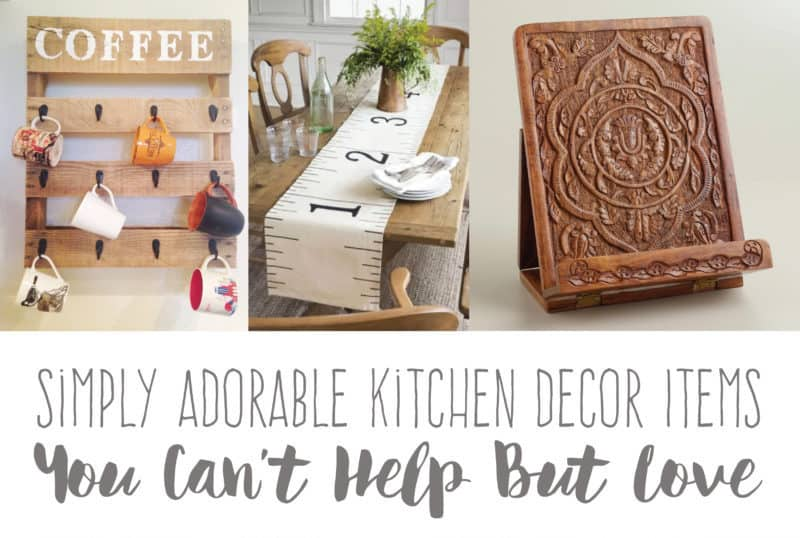 Simply Adorable Kitchen Decor Items You Can't Help But Love | Create&Capture