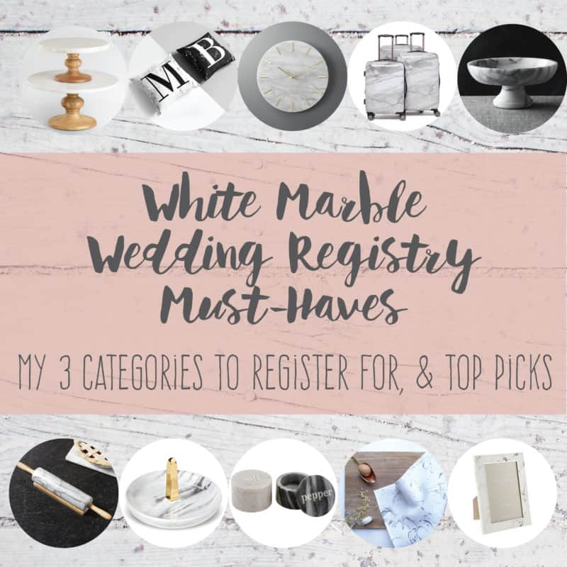 "<span class=""dojodigital_toggle_title"">White Marble Wedding Registry Must-Haves</span>"