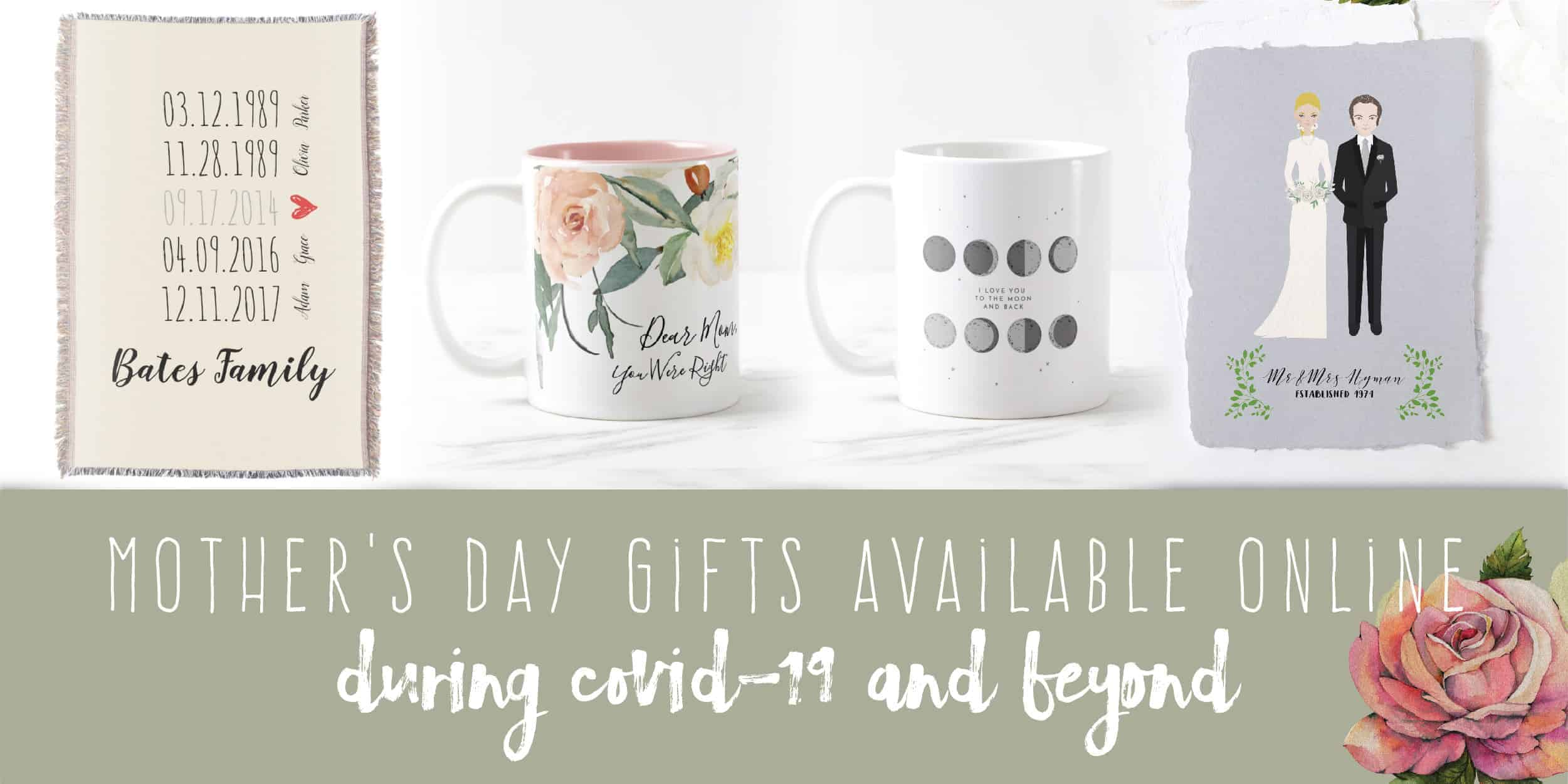 Mother's Day Gifts Available Online During COVID-19 And Beyond