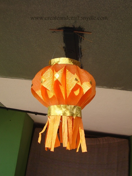 How To Make Paper Lanterns DIY Paper Lantern Create And Craft