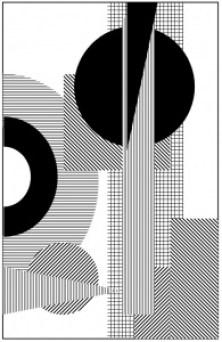 Non-Objective Shape Line Design Sketchbook