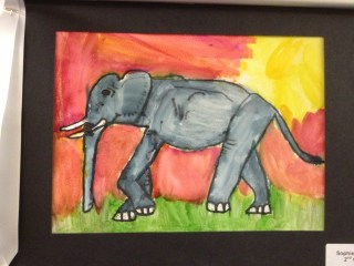 Elephant by sofie