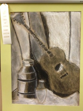 guitar still life by David