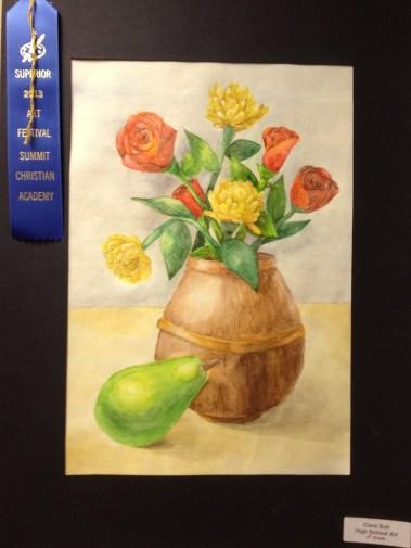 Watercolor Pencil by Clara