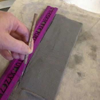 Ceramic Fairy Houses slab construction Lesson