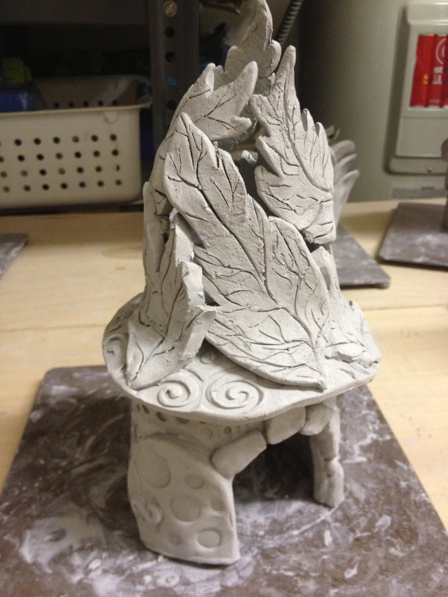 Ceramic Fairy Houses Lesson (Part One-Slab Construction)