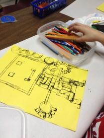LEGO Printmaking Lesson