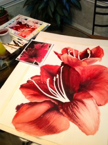 Watercolor Painting by Michelle East (Copywrite)