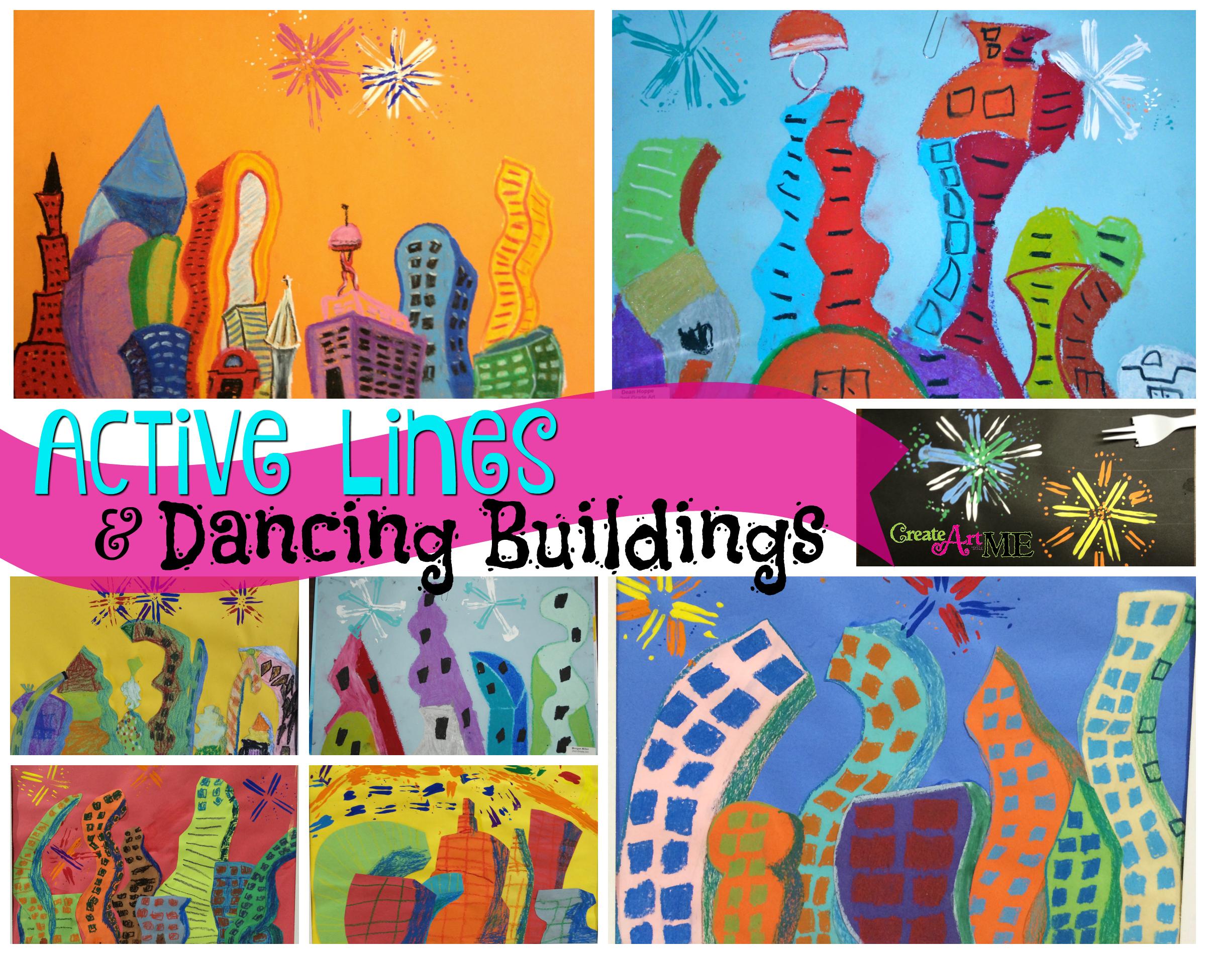 Active Lines Amp Dancing Buildings