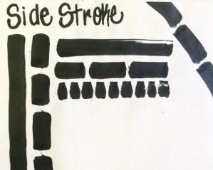 Sumi-e Side Stroke