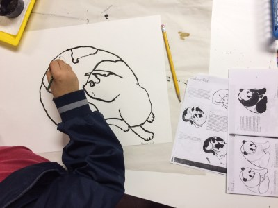 Sumi-e Painting Lesson