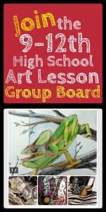 (9-12th) HS Art Lesson Plans Pinterest