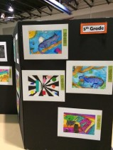 Art Festival Tri-fold Display